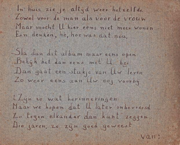 Gedicht t g v viering jarig huwelijk cor winkel en